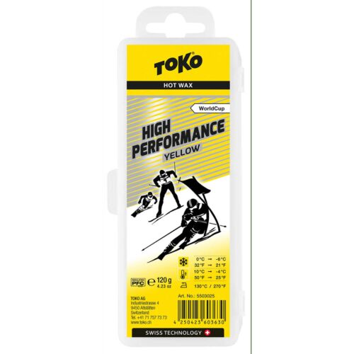 TOKO High Performance Yellow Wax 120g