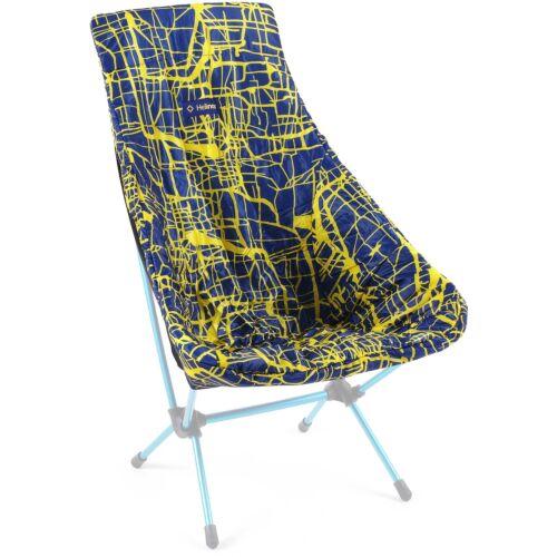 Helinox Seat Warmer for Chair Two - Black/ Flow Line