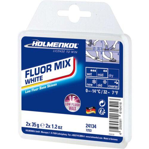 Holmenkol Fluormix LF White Wax 2 x 35g