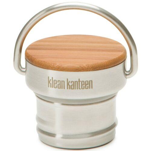 Klean Kanteen Stainless Unibody Bamboo Cap