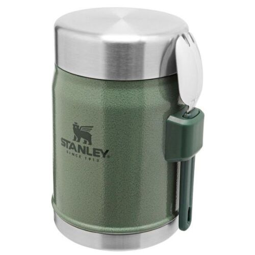 Stanley The Legendary Food Jar 0.4L + Spork Hammertone Green