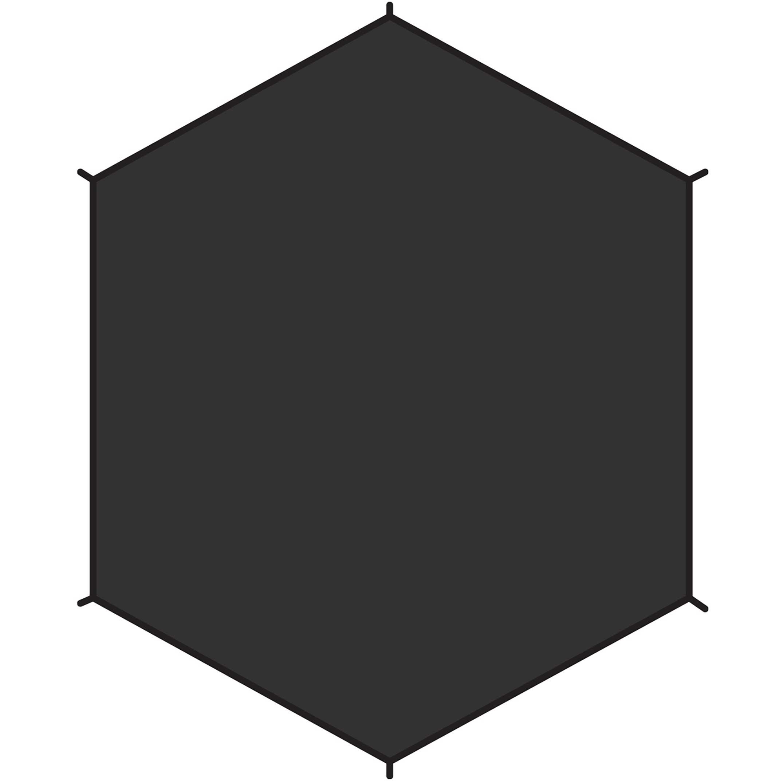 Imagem de Fjällräven Dome 3 Footprint Black