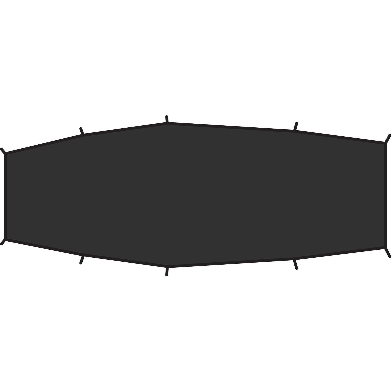 Imagem de Fjällräven Shape 2 Footprint Black