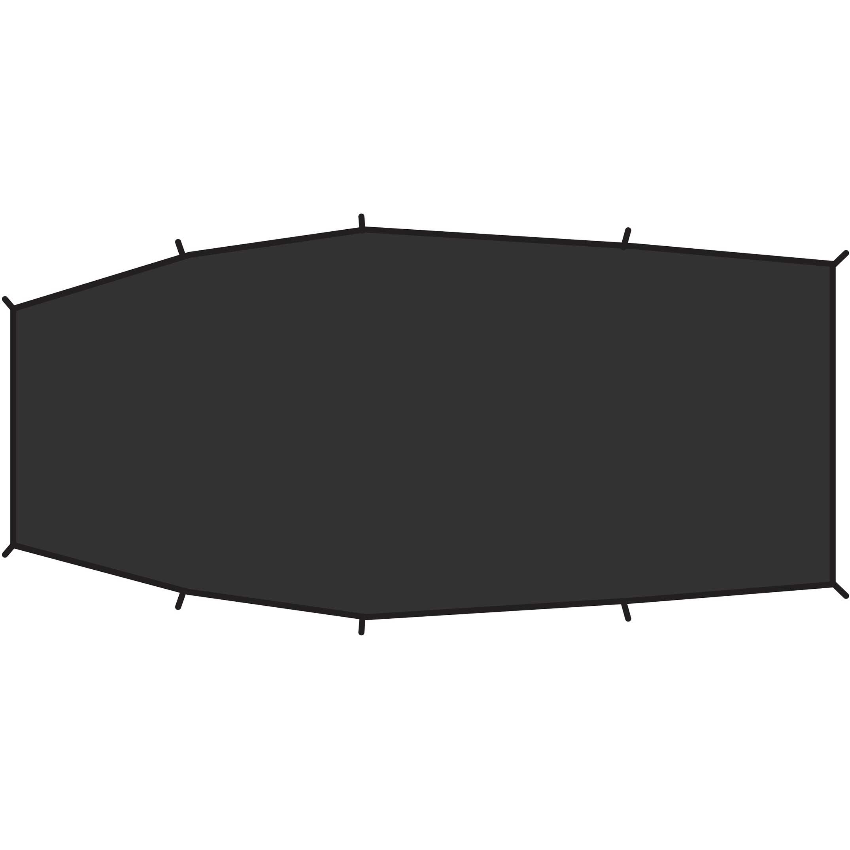 Imagem de Fjällräven Shape 3 Footprint Black