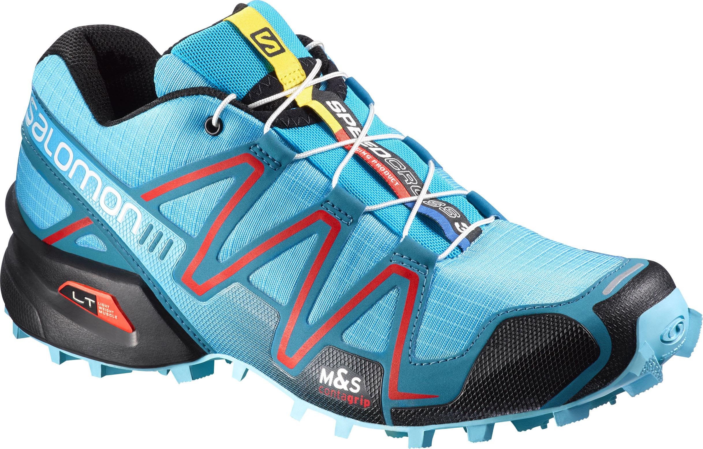 Marina Nacional insalubre  Salomon Speedcross 3 W Azurin Blu/Fog Blue - Trailrunning schoenen - Women