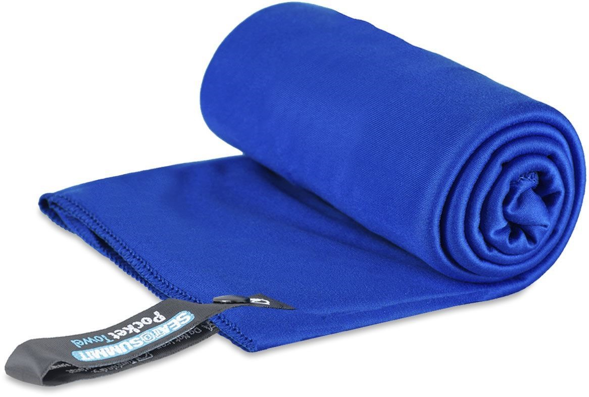 Bilde av Sea to Summit Pocket Towel L (60x120 cm) Cobalt